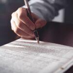 ¿Cómo hacer tu testamento?