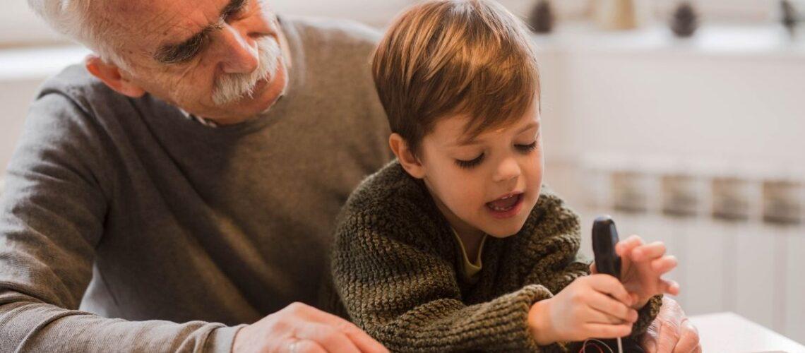 ¿Cómo explicarle a un niños que su abuelo murió?